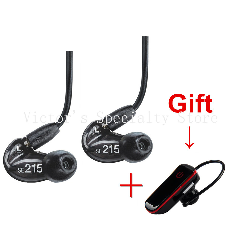 Promotion!! New version SE215 earphone Stereo Bass Music Headset wired in ear earphones 3 colors with box high quality<br><br>Aliexpress