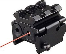 Spike 5mW adjustable mini mira red laser sights with picatinny rail and 20mm dovetail for hunting glock 23 pistol accessories