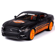 Maisto 1:24 2015 Ford Mustang GT Modern Muscle Diecast Model Car Toy New In Box Free Shipping 32188(China)