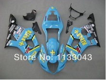 For SUZUKI GSX-R1000 K3 03 04 GSX R1000 K3 Blue GSXR 1000 2003 2004 GSXR1000 Fairing Kit