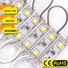 Wholesale LED Module 5050 SMD DC 12V 2 LED module lighting Waterproof IP65 led backlight red green blue yellow white warm white