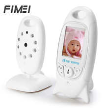 Fimei Wireless Baby Monitor LCD Digital Security Camera Audio Talk Night Vision IR Temperature Monitoring Video Infant Nanny