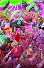 RICK And MORTY TV Show Adult Swim Movie Silk Poster Art Bedroom Decoration 1867(China)