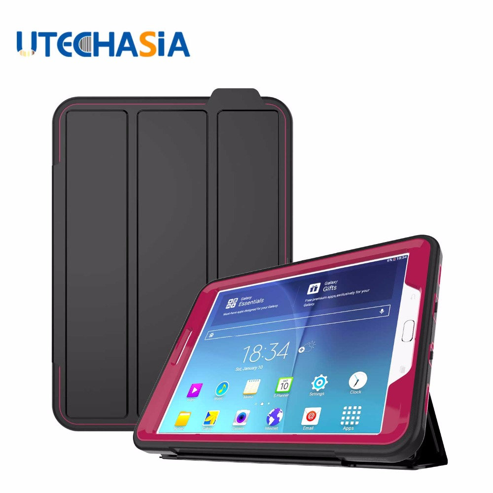 Case Cover For Samsung Galaxy Tab S2 T710 T713 Tablet Pad Solid Three Layer Heavy Duty Armor Defender Full Body Protector Case<br>