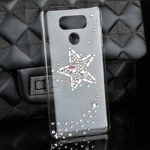 Fashion Bling Cell Phone Case for LG G6 Case Cover for LG G6 Mobile Phone Back PC Hard Cover 5.7 Inch Diy 3d Woman Accessories