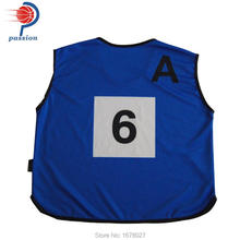 Sports Traning Bibs with Numbers Practice Bibs For Runner Teams(China)