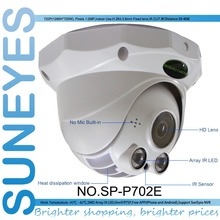 SunEyes SP-P702E 720P 1.0MP HD Wired Dome IP Camera Array IR LED Indoor ONVIF and RTSP IR Night Vision Micro SD Slot(China)