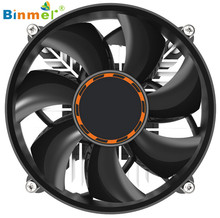 Hot-sale BINMER 9.2*9.2*2.5cm Computer Case CPU Cooling Cooler Fan Heatsink 7 Blade For Intel LGA INTEL LGA775 E6850