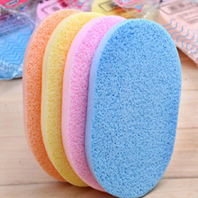 Facial Puff Face Wash Cleansing Sponge Beauty Makeup Tools esponja Cosmetic Puff Beauty Tools Wash Pad Puff Seaweed Cosmetic(China)