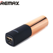 REMAX Lipstick Power Bank 2400mAh Portable Charger External Battery Pack Backup Powers Powerbank bateria externa for Smart Phone