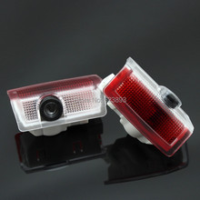 Free shipping,2x Laser LED Door courtesy Shadow Projector Light For Mercedes GLA class X156 45 AMG 14 up(China)