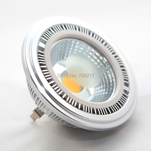 Hot selling ! AR111 15W COB LED bulb lamps Dimmable 15W COB AR111 QR111 ES111 G53 LED Ceiling lamp replace 120W Halogen lamp(China)