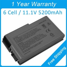 New laptop battery 1M590 1M690 1U156 1X793 9W723 9X821 W0624 W1436 W1605 451-10194 315-0084 for dell Inspiron 500m 510m 600m(China)