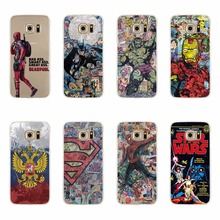 Cases For Samsung S3 S4 S5 Mini S6 S7 Edge Plus Note 3 4 5 Note3 Note4 Note5 A3 A5 J5 J7 A310 A510 J510 J710 2016 Cartoon Covers
