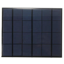 165*135*2mm 3.5W 6V 583mA Monocrystalline Silicon Epoxy Mini Solar Panel Solar Module System Solar Cells DIY Battery Charger