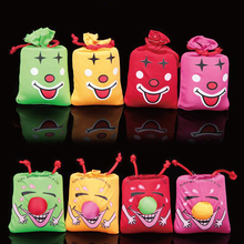 1pcs Ha Ha Laughing Bag Push Me I Will Laugh A Lot Gag Gift Prank Joke Funny Novelty Toy Party Favor Halloween Decor FM0975