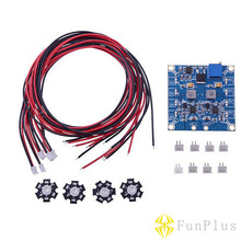 RC LED Flashing Night Light with Control Board Module And Extension Wire for Quadcopter FPV 4 Axis Quad(China)