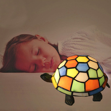 Novelty Turtle Nightlight Romantic Holiday Animal Gift Table Lamp Lights Party Decoration Children Kids Bedroom Lighting TL158