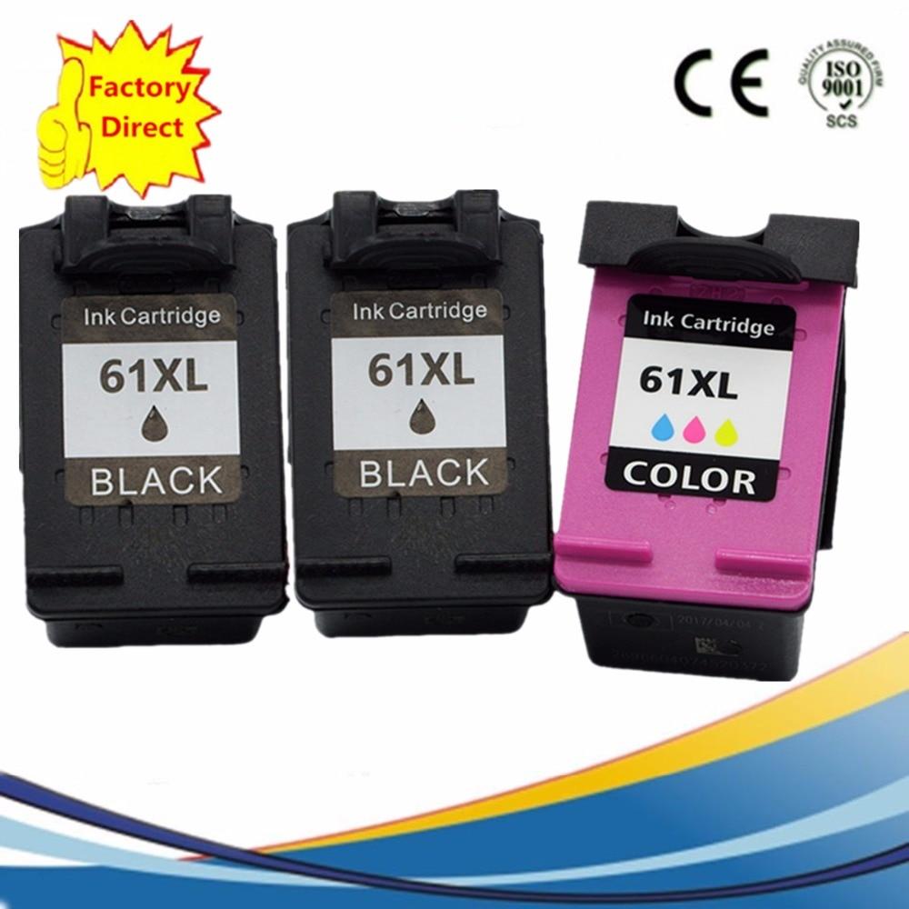 3PK 61 CH561WN CH562WN B//C For HP OfficeJet 2620 4630 4632 4634 4635