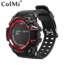 Buy ColMi Smart Sport Watch T1 OLED Display Heart Rate Monitor IP68 Waterproof Push Message Call Reminder Android IOS Phone for $30.81 in AliExpress store