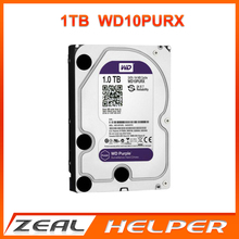 WD Purple 1TB WD10PURX hdd NVR system sata 3.5 disco duro interno internal hard disk hard drive disque dur desktop server