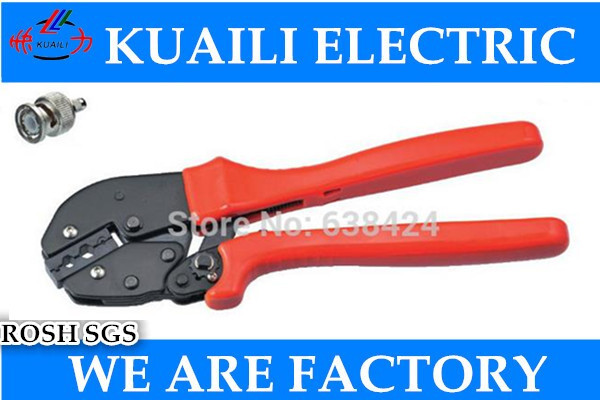 1PCS AP-02H New Generation of Energy Saving Crimping Pliers Capacity 6.5/5.4/1,72mm2 For Coaxial Cable<br>