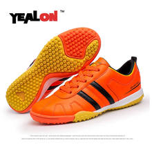 YEALON Soccer Shoes Kids Soccer Cleat Football Shoes For Boy Children Soccer Sports Cleats Superfly Sneakers Professional