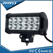 "OVOVS 2 PCS 36 w 7 inch led light wholesale 7"" led work light bar for truck off road tractor ATV SUV"