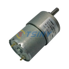 Permanent Magnet Dc Drive Gear Motor 12v Low RPM 30RPM 37mm with Gearbox for BBQ Replacement