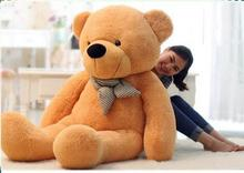 200cm Giant teddy bear big stuffed animals plush toys brinquedos lowest price for girls valentine gift