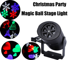 LED Stage Light Laser Projector Lamps Heart Snow Spider Bat Christmas Party Landscape Light Garden Lamp Outdoor Lighting(China)