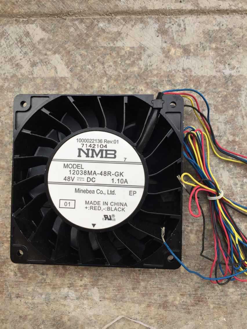 New Original NMB 12038MA-48R-GK 48V 1.10A 12cm Inverter cooling fan<br>