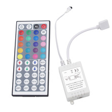 44 Key DC 12V 6A IR Infrared Music Remote Controller Dimmer Sound Control 20 Colors for LED Strip Light
