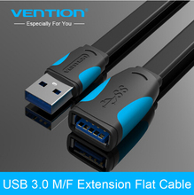 Vention USB Extension Cable USB 3.0 Cable Male to Female Data Sync Transfer Extender Cable for Computer Cable USB Extension(China)