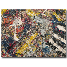 2017 fashion sales wall art Large paintings For Home Decoration Ideas painting canvas Jackson Pollock sheet studies