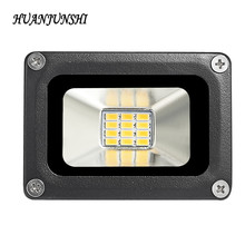 hot 12V 10W Waterproof IP65 LED Flood Light Floodlight Landscape Outdoor Flood Light Lighting Lamp Square Garden Spotlights(China)