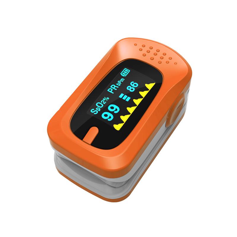 Portable Finger Pulse Oximeter Digital Blood Oxygen Pressure Meters Device Medical Equipment Household Health Monitors 10