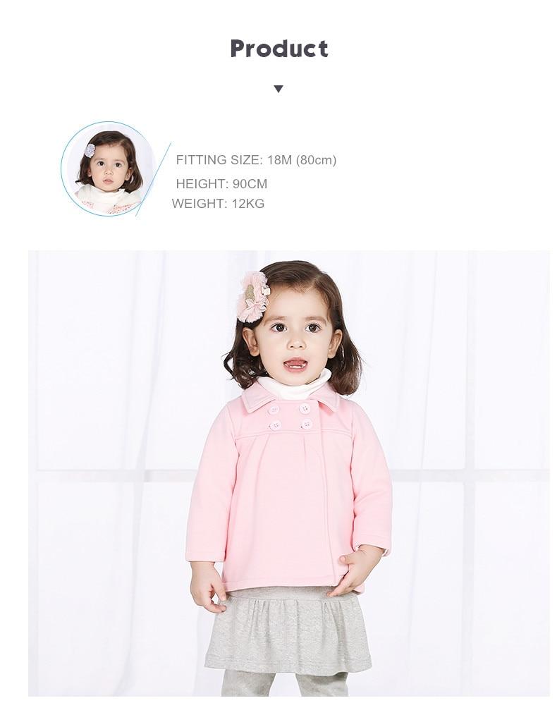 Tinsino Winter Baby Girls Thickening Coats Children Girl Autumn Cotton Jackets Kids Girls Fashion Outerwear Girls Brand Clothing