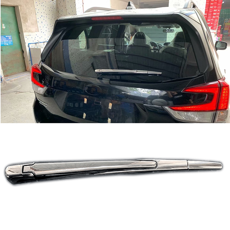 Chrome Rear Window Windscreen Wiper Cover Trim 4pcs For Subaru Forester SK 2019