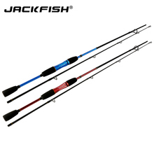 JACKFISH Casting Fishing Rod 1.8M lure fishing rod blue/red Lure Rod M Power Fast Action Carbon Baitcasting wheel Rod pesca(China)