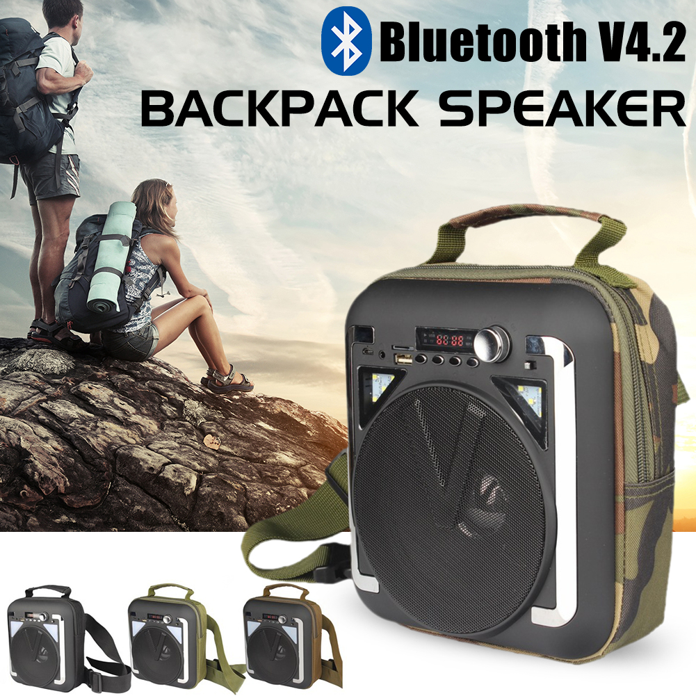 7258d75ab7 Detail Feedback Questions about Backpack Bluetooth Speaker with LED ...