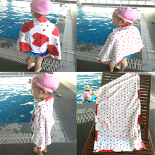 Beach towel Microfiber 50*90cm Red loving heart Women Children's bath towels Swimming Sports towel Outdoor towel Baby Blanket