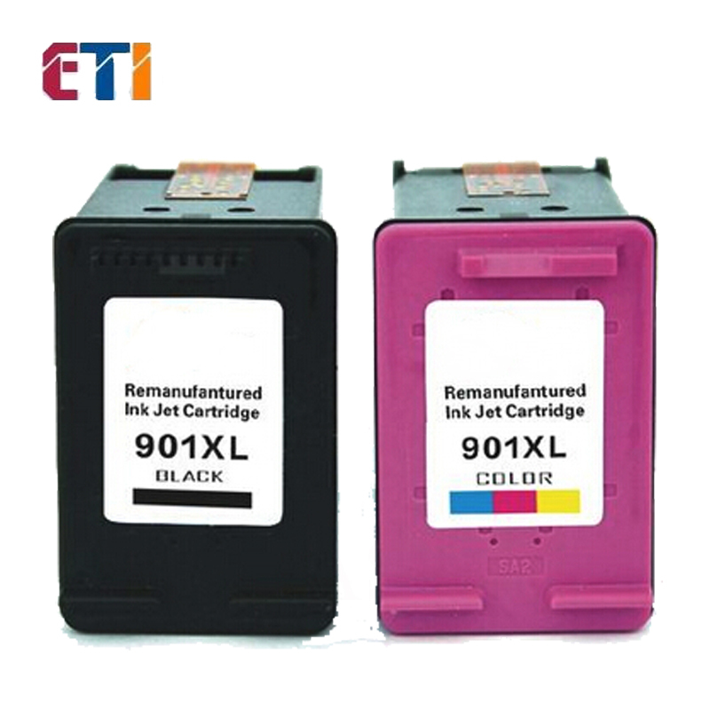 2 PK for HP901XL Compatible for HP 901XL Ink Cartridge With chip for HP officejet 4500 J4580 J4640 J4660 J4680 Printers<br><br>Aliexpress