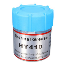 High Quality 1pc HY410 10g White Thermal Conductive Grease Paste Compound Silicone For CPU GPU Chipset Cooling Silicone Grease