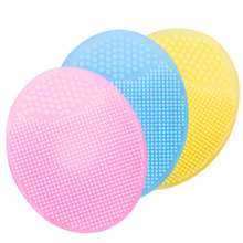 Fashion High Quality Effective Washing Brush Scrubber Board Silicone Brush Cleaning Mat Moisturizing Soft Face Washing Tools
