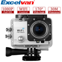 Excelvan Camera Q5 Action Sport 12MP 2.0 Inch HD Lens 30M Waterproof DV Video Anti-shake Q5 Sports Action Camera