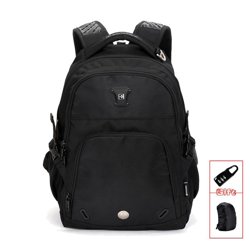Mochilas Hot Sale Swiss Backpack Male Waterproof Mens Large Capacity Laptop Bagpack School Bag Teenager Boy Mochila Sw9017 <br>