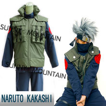 Free shipping !  Kakashi Neenya Ninja suit from Naruto cosplay costumes(including headband)