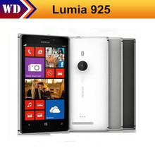 Original Nokia Lumia 925 Cell Phones 16GB 8MP Camera 4.5 Inch Touch Screen In Stock