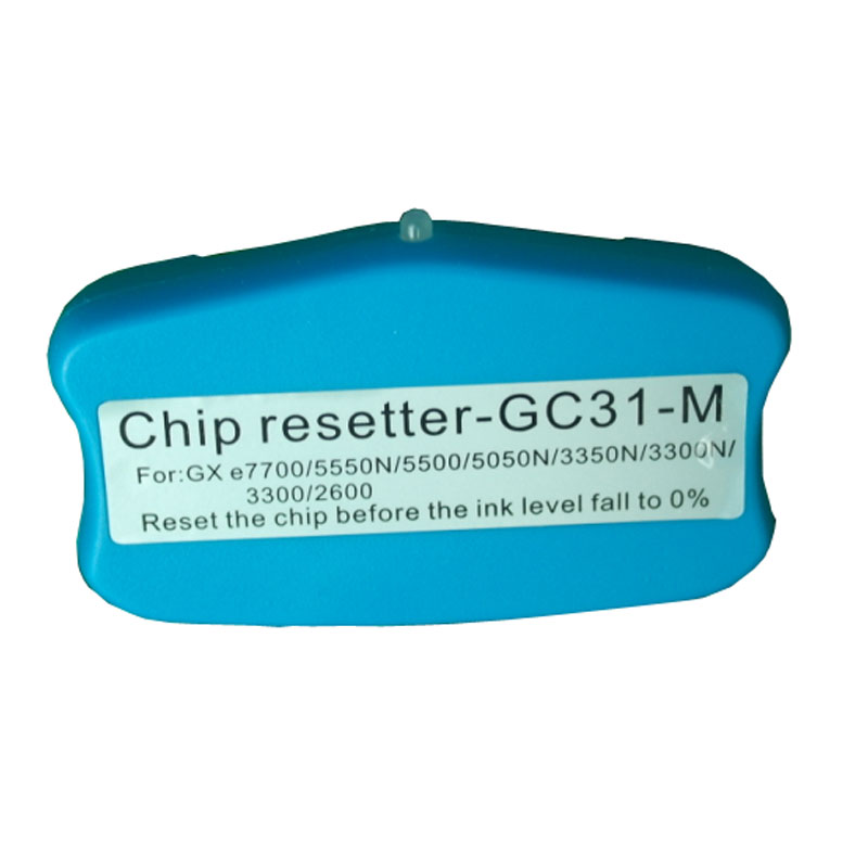 New GC31 Cartridge Chip Reseter For Ricoh GXE 2600/3300/3300N/3350N/5050N/5500/5550N/7700 Printer GC31 Resetter<br><br>Aliexpress
